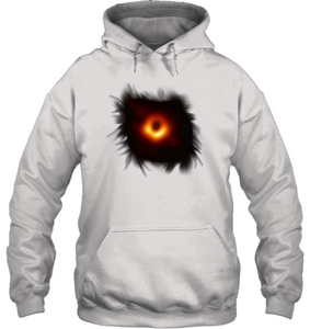 White Black Hole Image Picture Graphic Tee New for 2019 | Black Hole Press