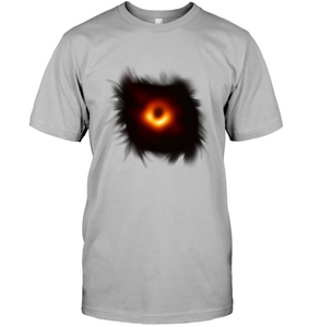 White Black Hole Image Picture Graphic Tee New for 2019