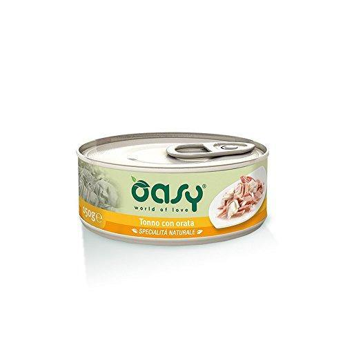Oasy Cat Tonno con Orata 70 gr 1 Lattina