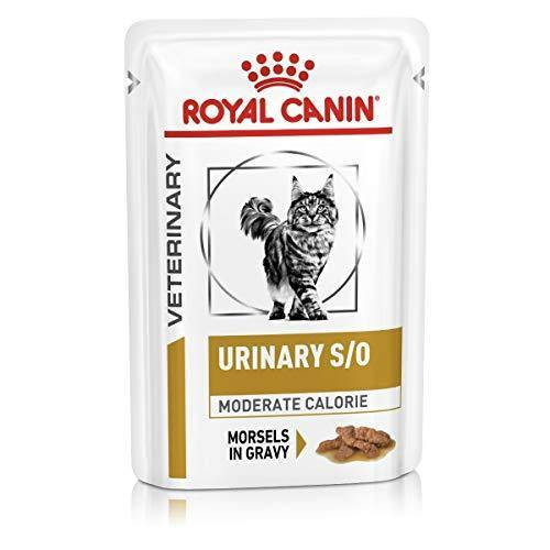 Royal Canin Veterinary Diet Cat Urinary S/O Moderate Calorie morceaux 12x85 g - Amici e Natura iTALIA