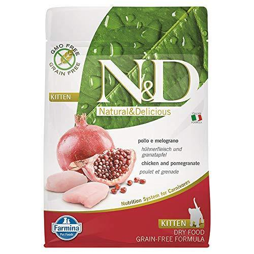 N&d low grain N&D N& d Grain Free Kitten con Pollo e Melograno Secco Gatto gr. 300, Multicolore, Unica, unità - Amici e Natura iTALIA