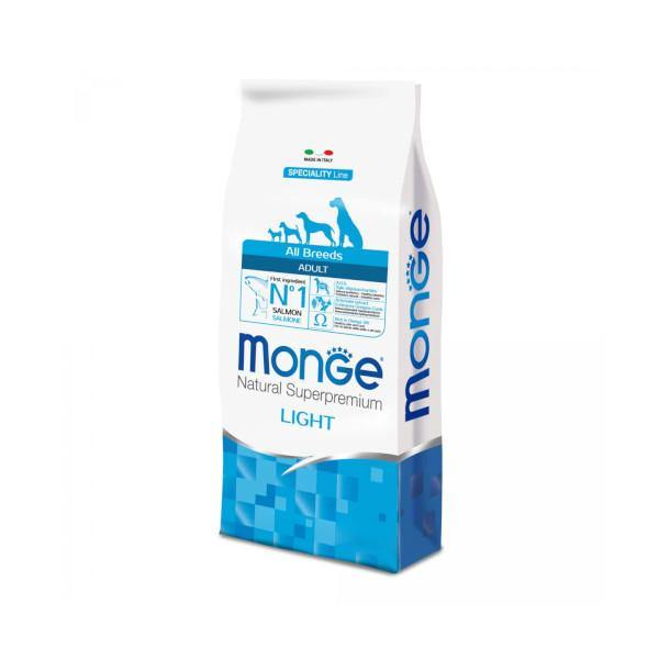 Monge dog dry Light kg 2,5 - Amici e Natura iTALIA