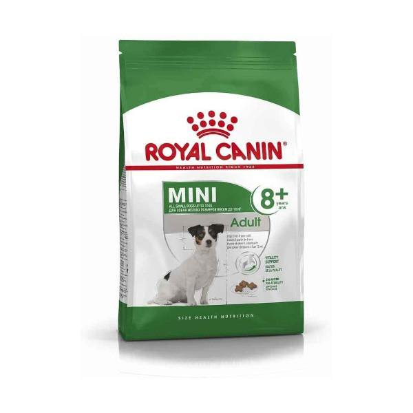 Royal Canin Mini Adult 8+  kg4 - Amici e Natura iTALIA