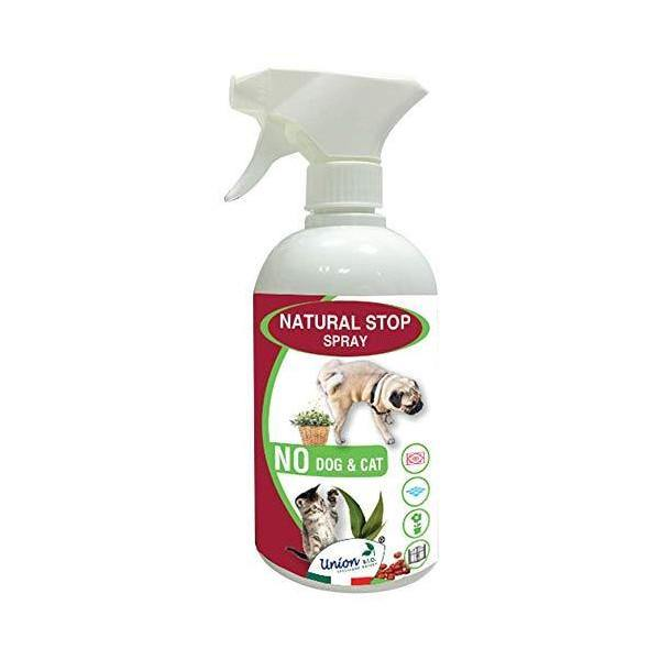 UNION B.I.O. SOLUZIONE NATURA 04A No Dog And Cat Spray, Multicolore, 500 ml - Amici e Natura iTALIA