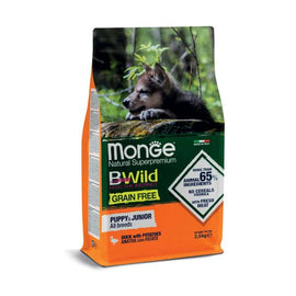 Monge Grain Free Anatra con Patate All Breeds Puppy & Junior - Amici e Natura iTALIA