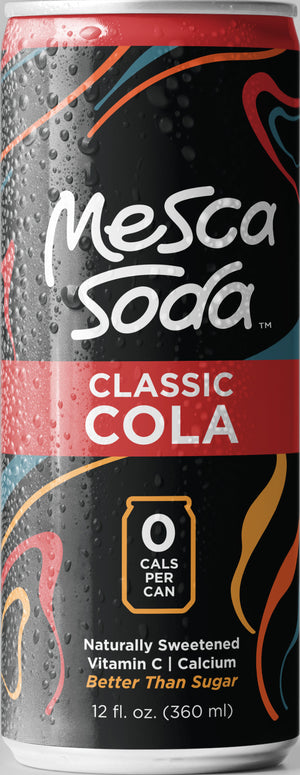 Open image in slideshow, Mesca Classic Cola (Limited Edition 10 oz Sleek Cans)