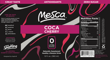 Load image into Gallery viewer, Mesca Coca Cherry 12 oz Cans
