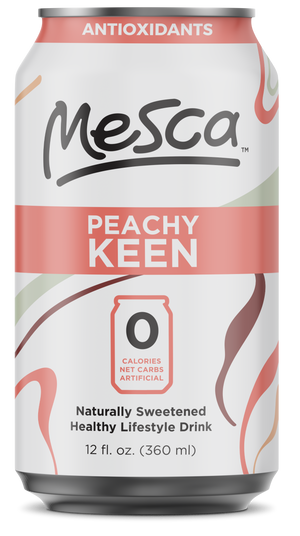 Open image in slideshow, Mesca Peachy Keen 12 oz Cans