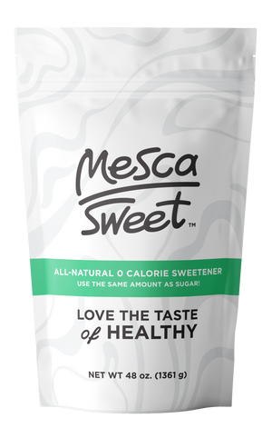 Open image in slideshow, Mesca Sweet - Natural Zero Calorie Sweetener 3 LB