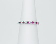 Load image into Gallery viewer, Diamond cut rubies