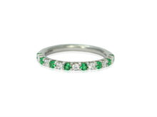 Load image into Gallery viewer, Diamond cut emerald