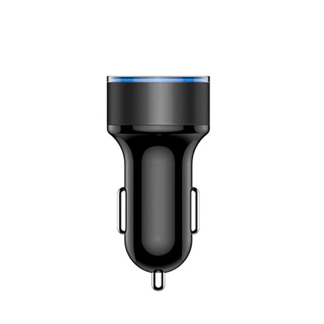 4.8Amps Dual USB Car Charger - Vehicles accessories, car-enthusiast gifts, car interior & safety Gadgets