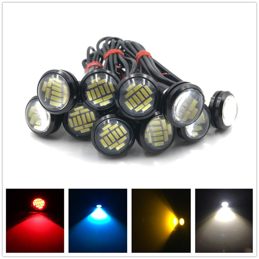 10x 23mm 15W Eagle Eye LED Lamp - Vehicles accessories, car-enthusiast gifts, car interior & safety Gadgets