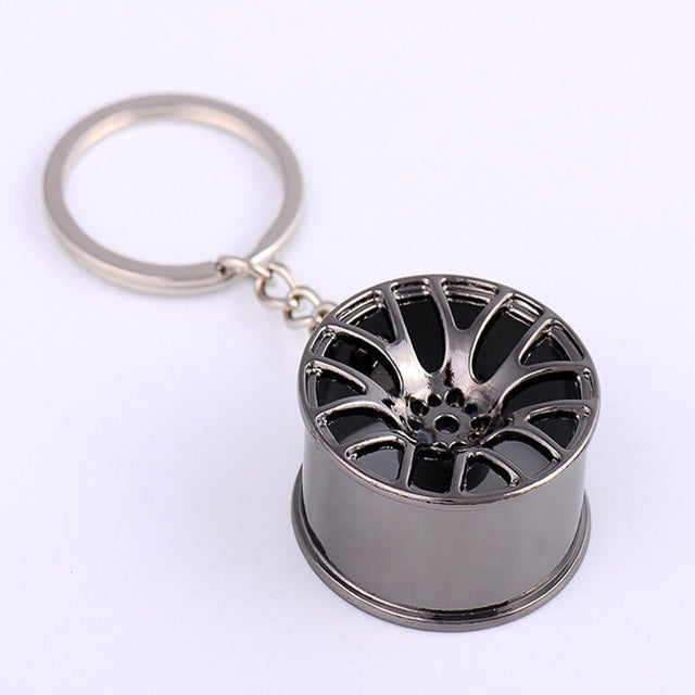 Alloy Wheel Keychain - Vehicles accessories, car-enthusiast gifts, car interior & safety Gadgets