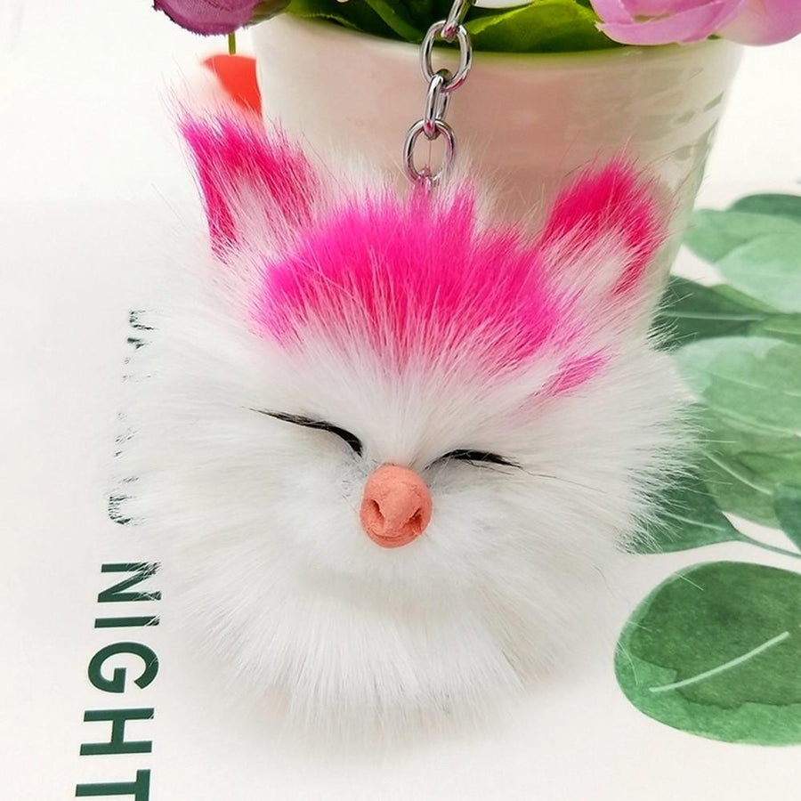 Fluffy Kitten Keychain - Vehicles accessories, car-enthusiast gifts, car interior & safety Gadgets