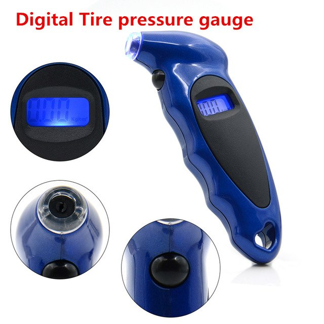 Digital Tyre Pressure Gauge - Vehicles accessories, car-enthusiast gifts, car interior & safety Gadgets