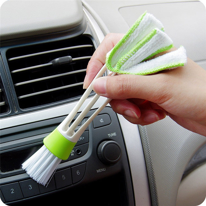 Dual-Function Microfibre/Nylon Duster - Vehicles accessories, car-enthusiast gifts, car interior & safety Gadgets