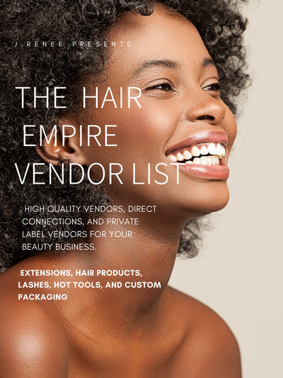 The Hair Empire Vendor List