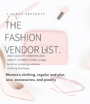 THE ULTIMATE BEAUTY EMPIRE VENDOR LIST - Fashion, Hair, Makeup, Nails, Skin Care, and MORE!