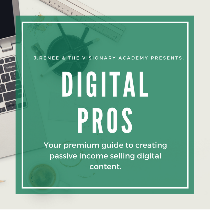 Digital Pros: Your premium guide to creating passive income selling digital products.