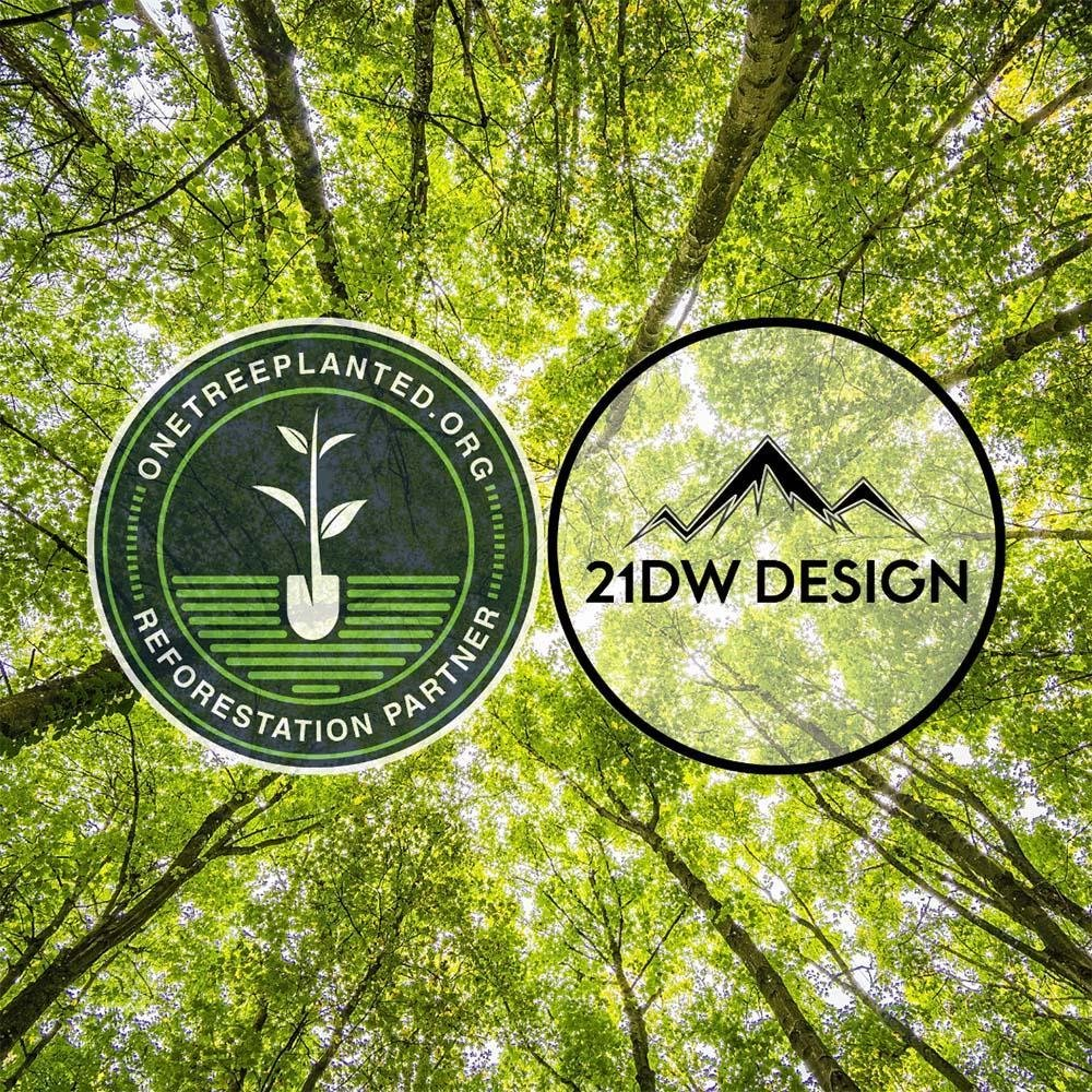 Tees and Trees! Our Partnership with One Tree Planted. | 21DW Design
