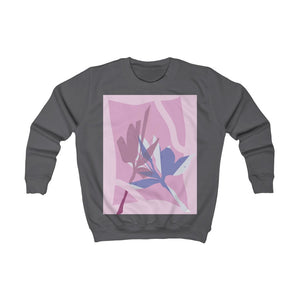 Leaf Pressings Kid's Sweatshirt