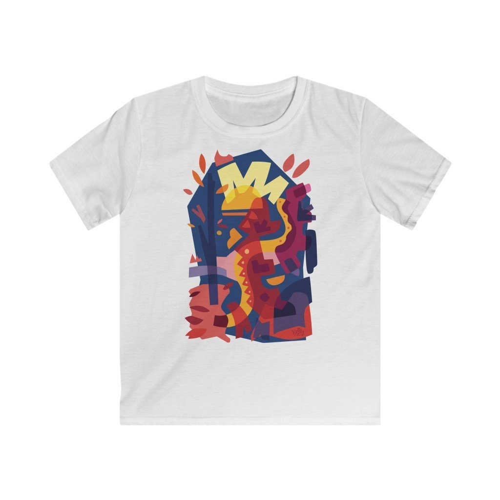 Autumn Snake Kids T-shirt - 21DW Design