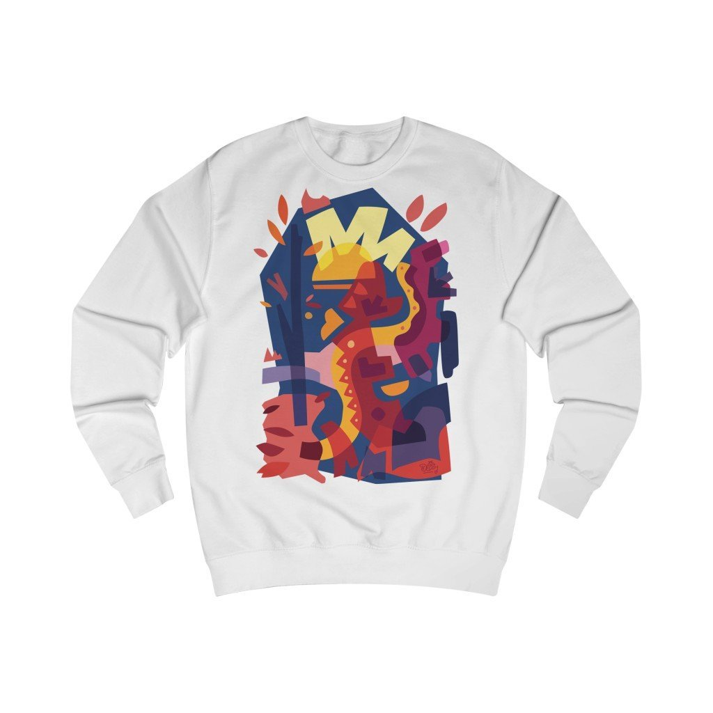 Autumn Snake Unisex Sweatshirt - 21DW Design