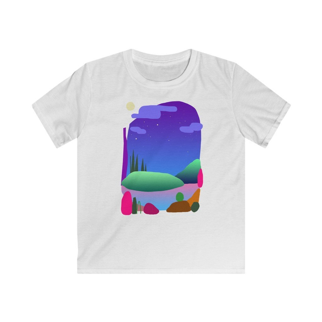 Camping Spot 100% Organic Cotton Kid's T-shirt - 21DW Design
