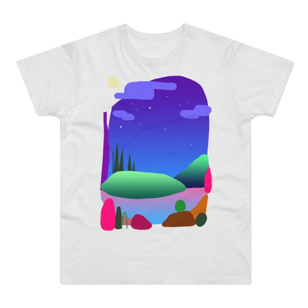 Camping Spot Men's T-shirt - 21DW Design