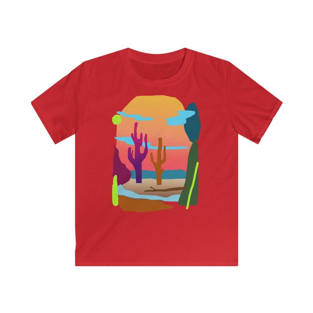 Desert Vibing Kid's T-shirt - 21DW Design