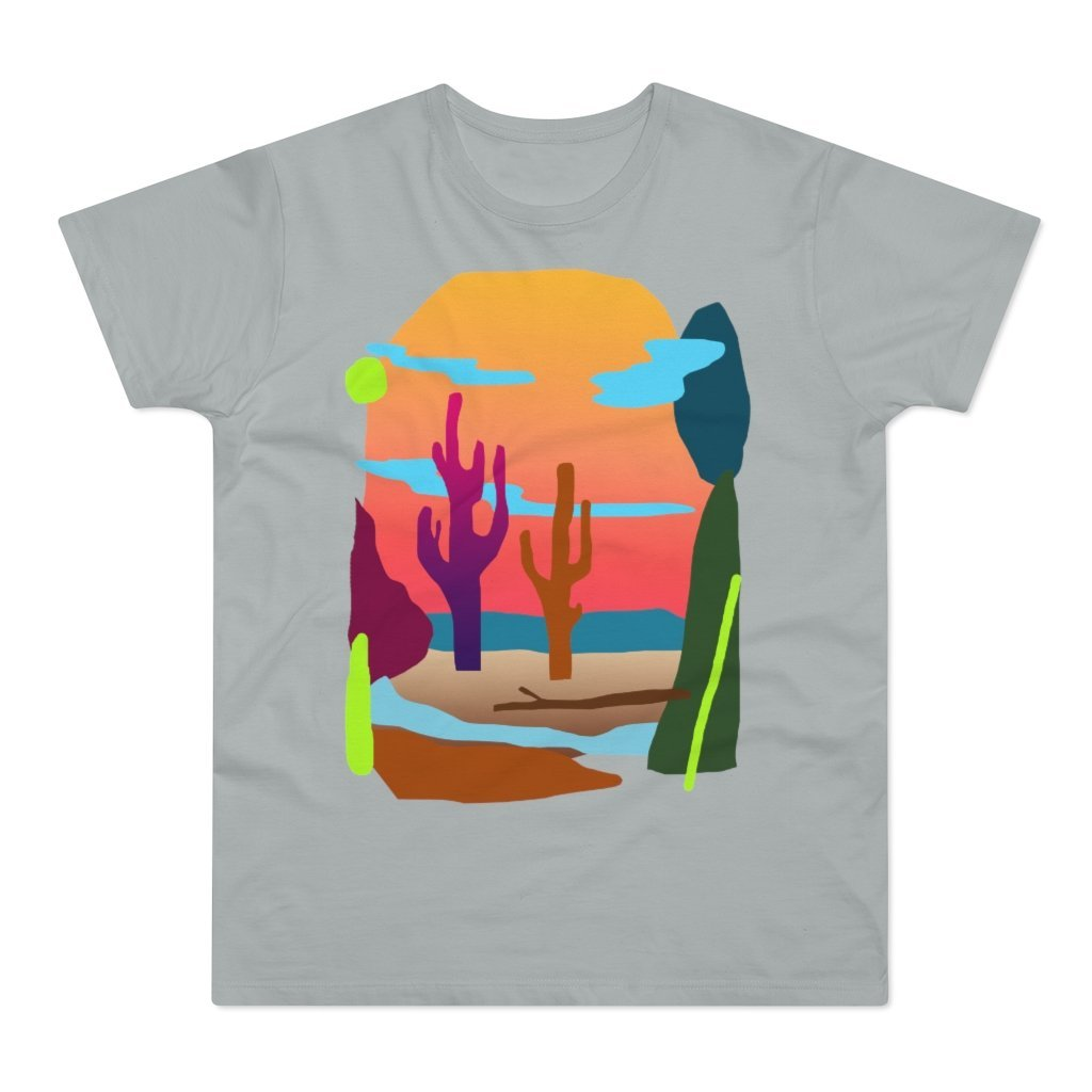 Desert Vibing Men's T-shirt - 21DW Design