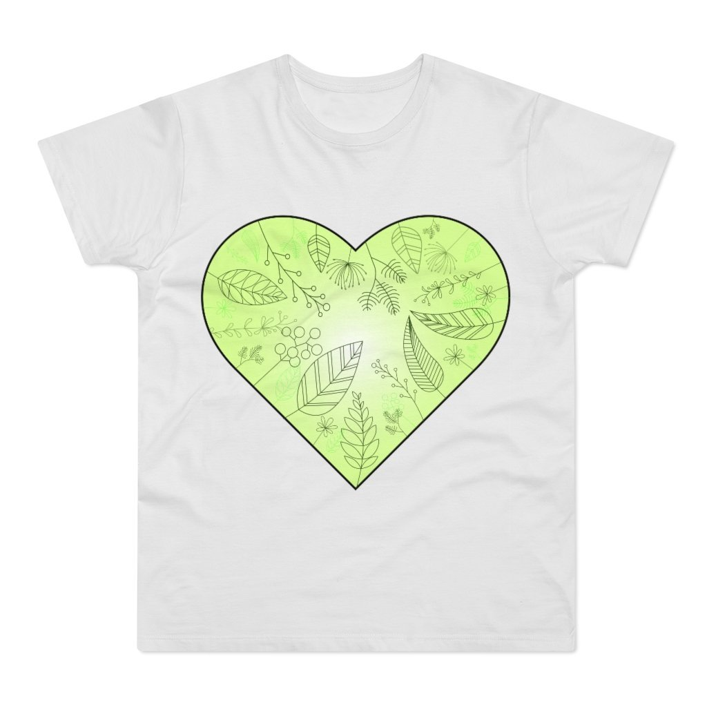 Eco Heart Men's T-shirt - 21DW Design