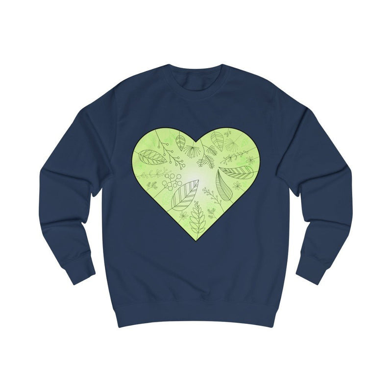 Eco Heart Unisex Sweatshirt - 21DW Design