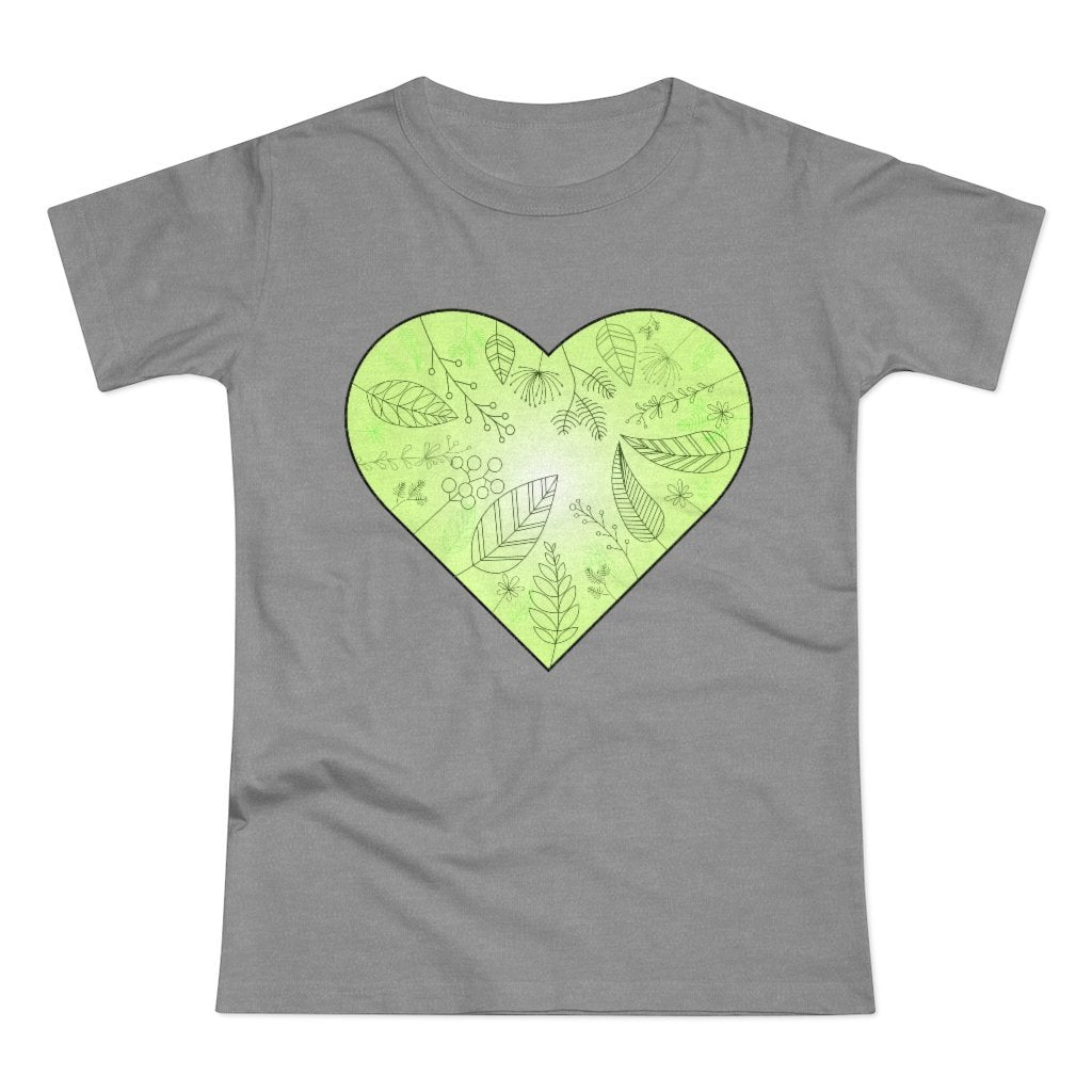 Eco Heart Women's T-shirt - 21DW Design