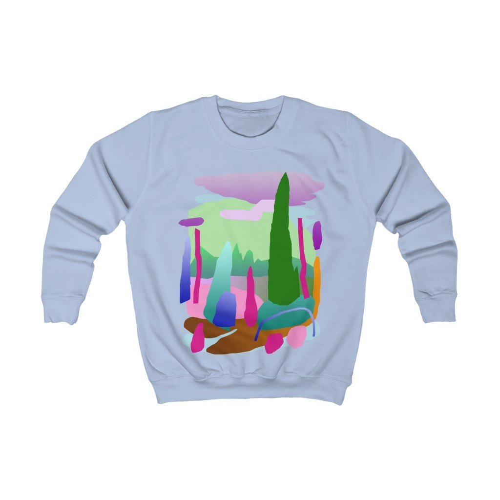 Explore More Organic Kid's Sweatshirt - 21DW Design