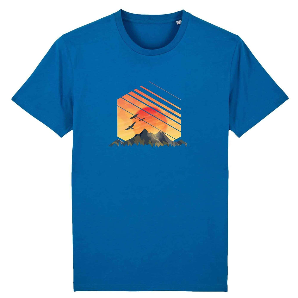 Hex Sunset 100% Organic Cotton Men's T-shirt