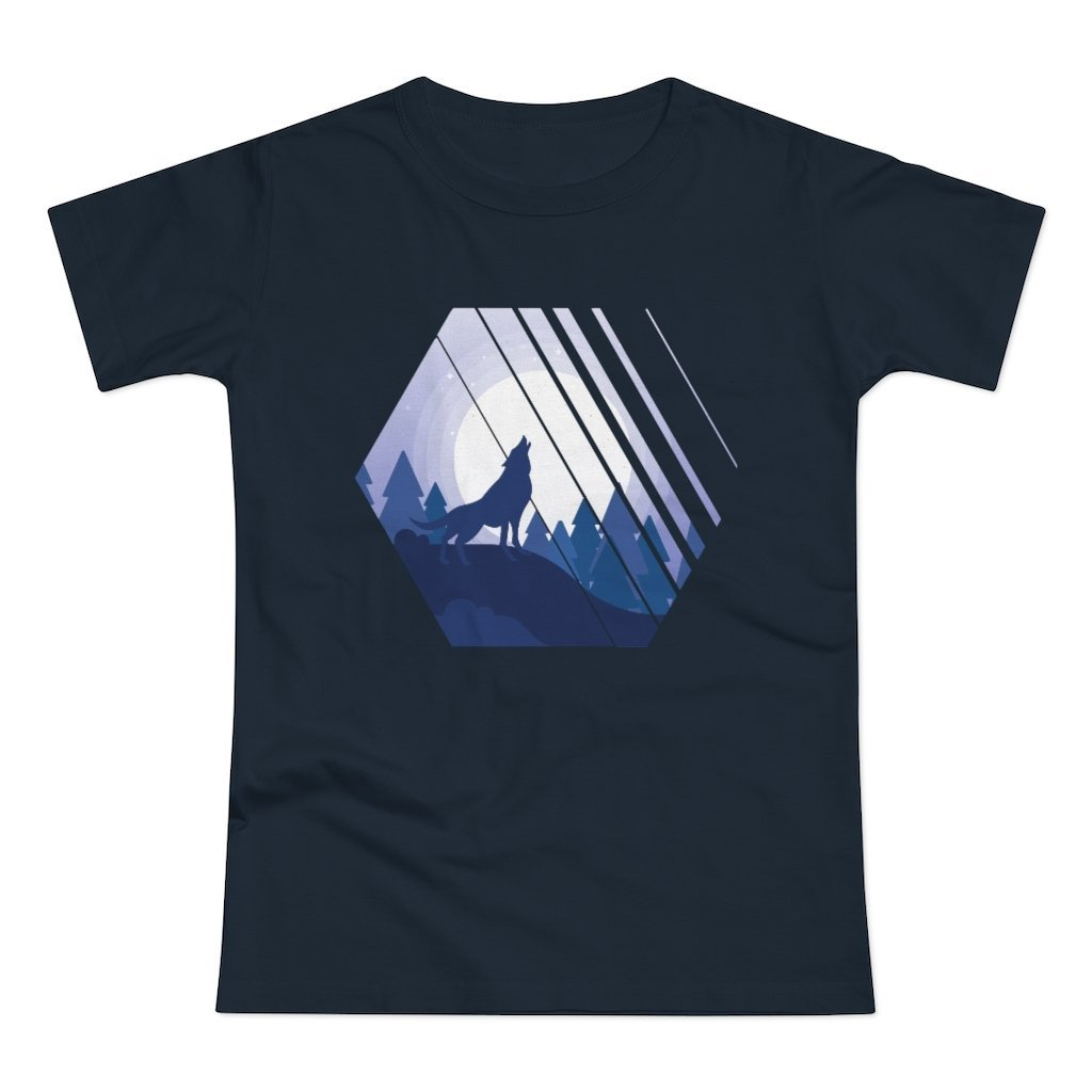 Howling Wolf Women's T-shirt - 21DW Design