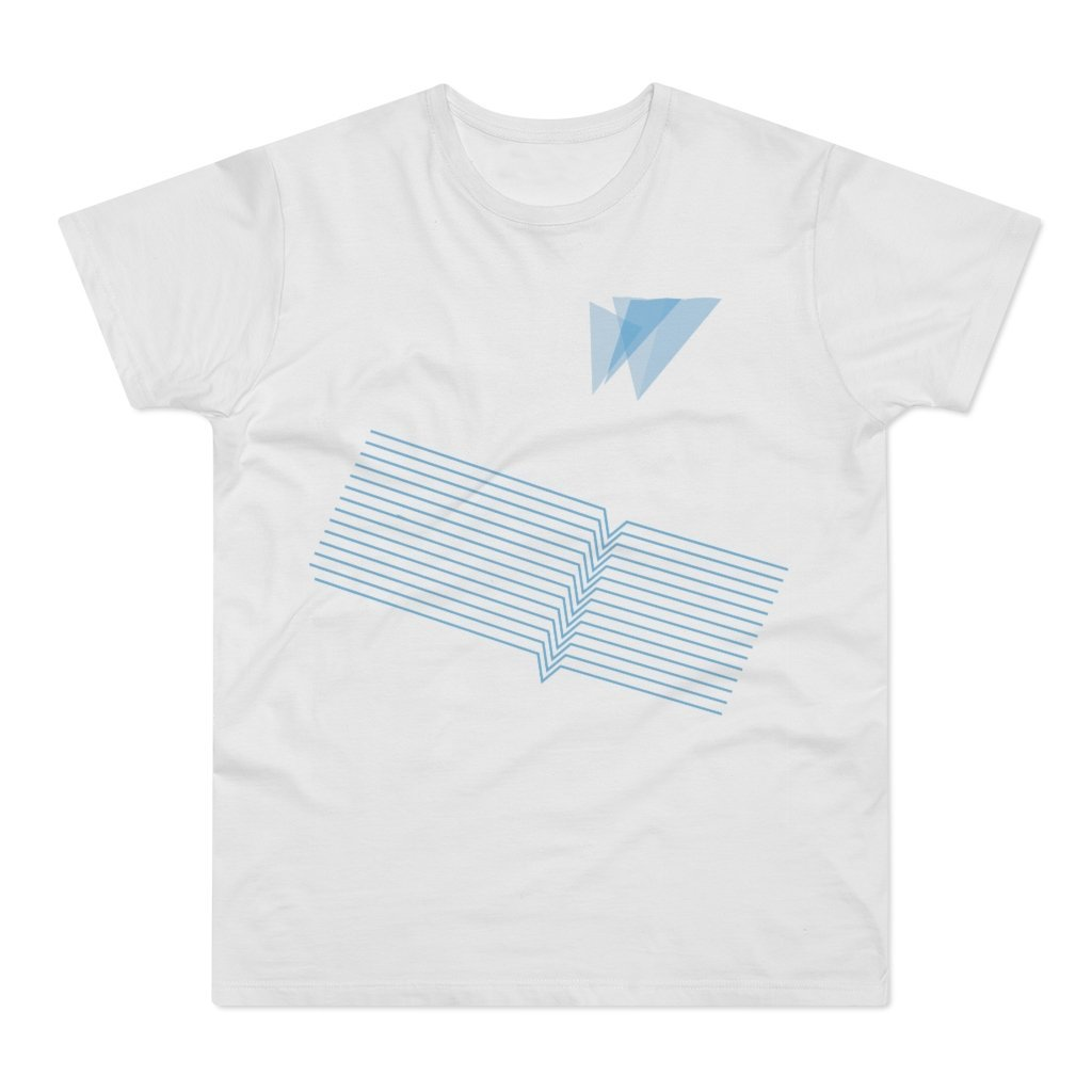 Kites V2 100% Organic Cotton Men's T-shirt - 21DW Design