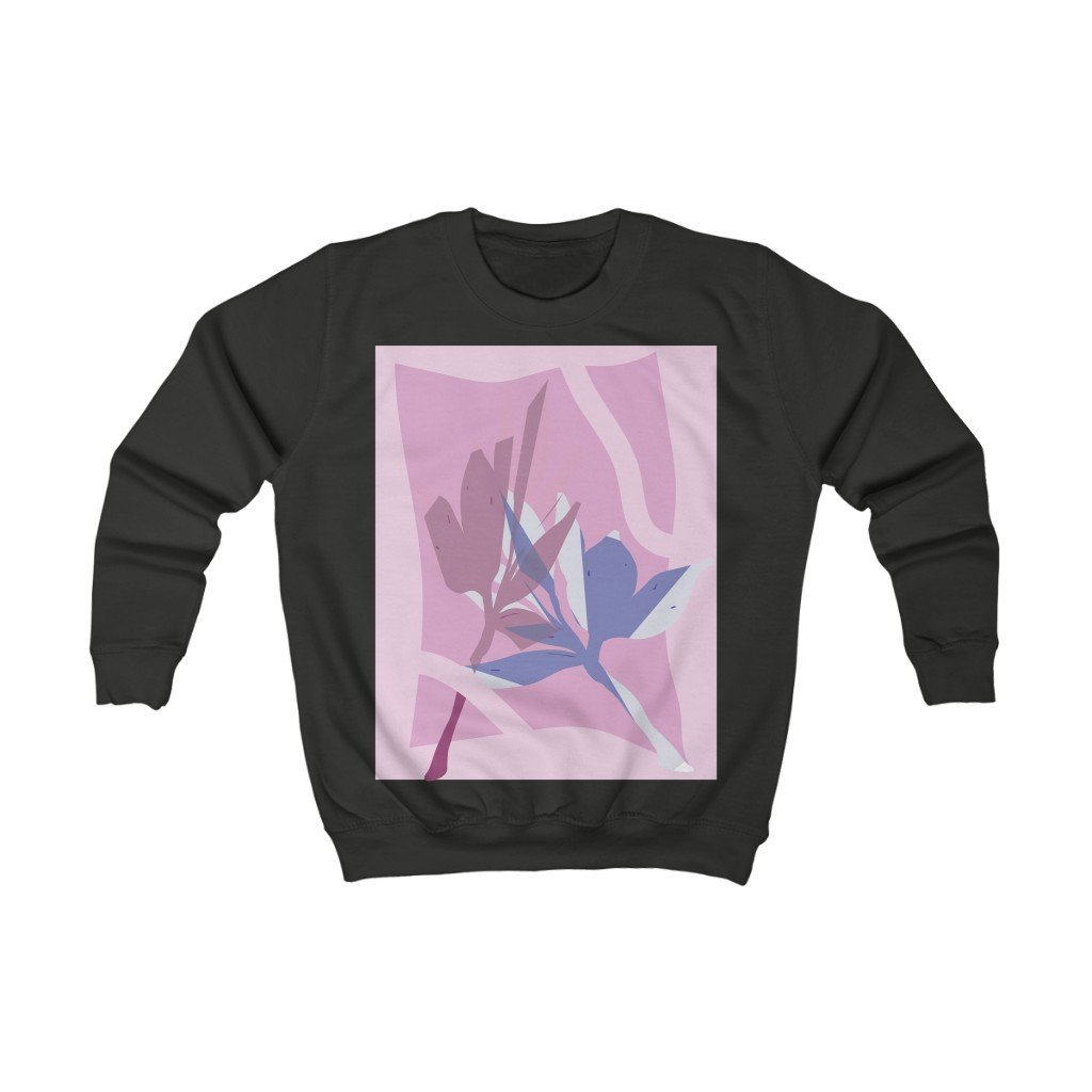 Leaf Pressings Kid's Sweatshirt - 21DW Design