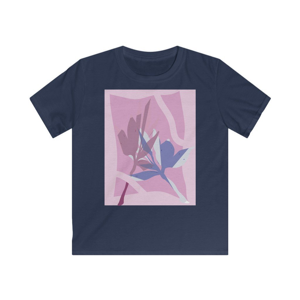 Leaf Pressings Kid's T-shirt - 21DW Design