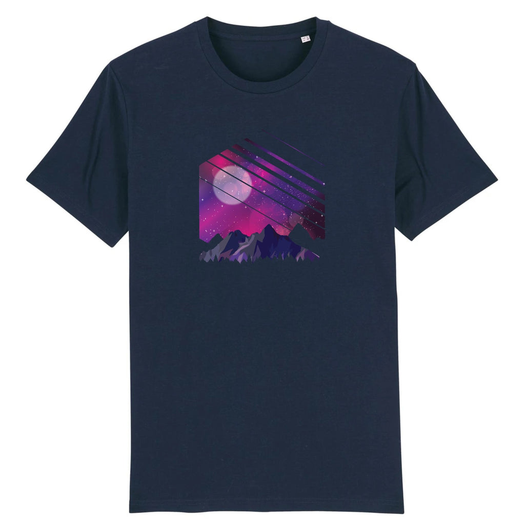 Mtn Galaxy 100% Organic Cotton Men's T-shirt