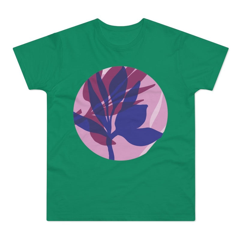 Plant Overlay Men's T-shirt - 21DW Design