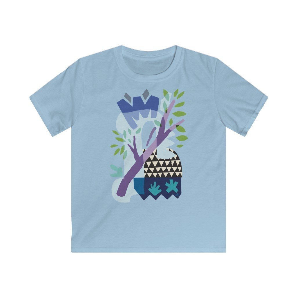 Spring Triangles Kid's T-shirt - 21DW Design