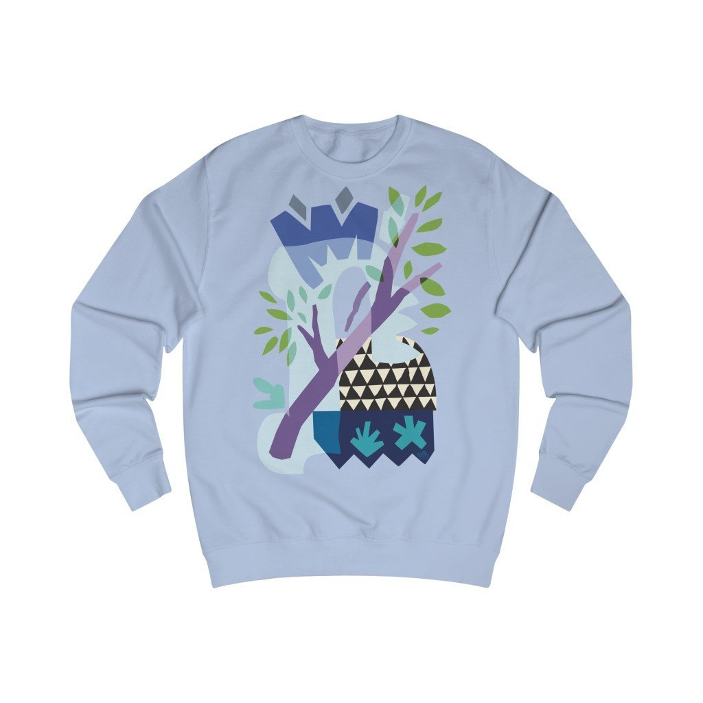 Spring Triangles Unisex Sweatshirt - 21DW Design