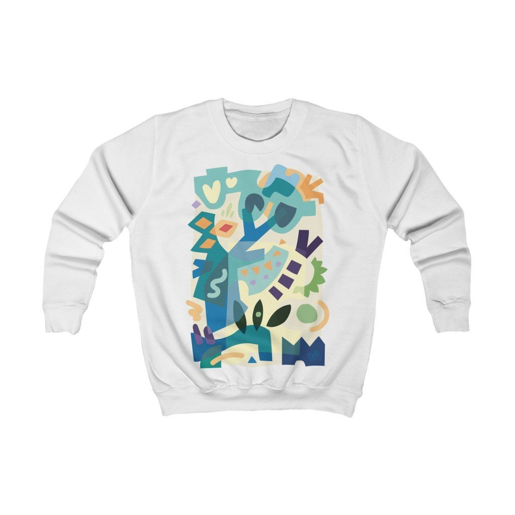 Summer Sand Kids Sweatshirt - 21DW Design