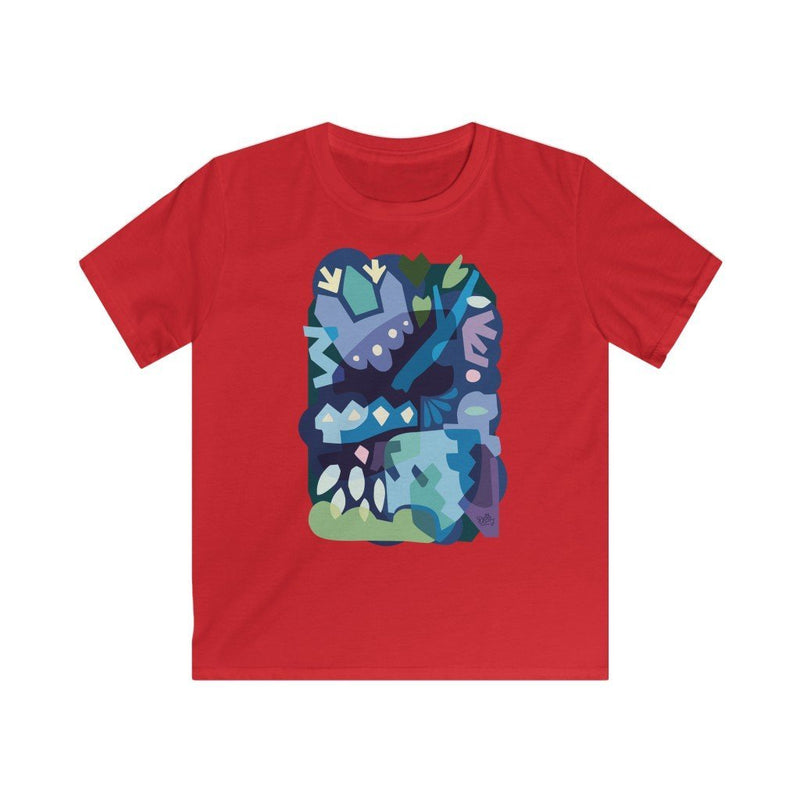 Winter Night Kid's T-shirt - 21DW Design