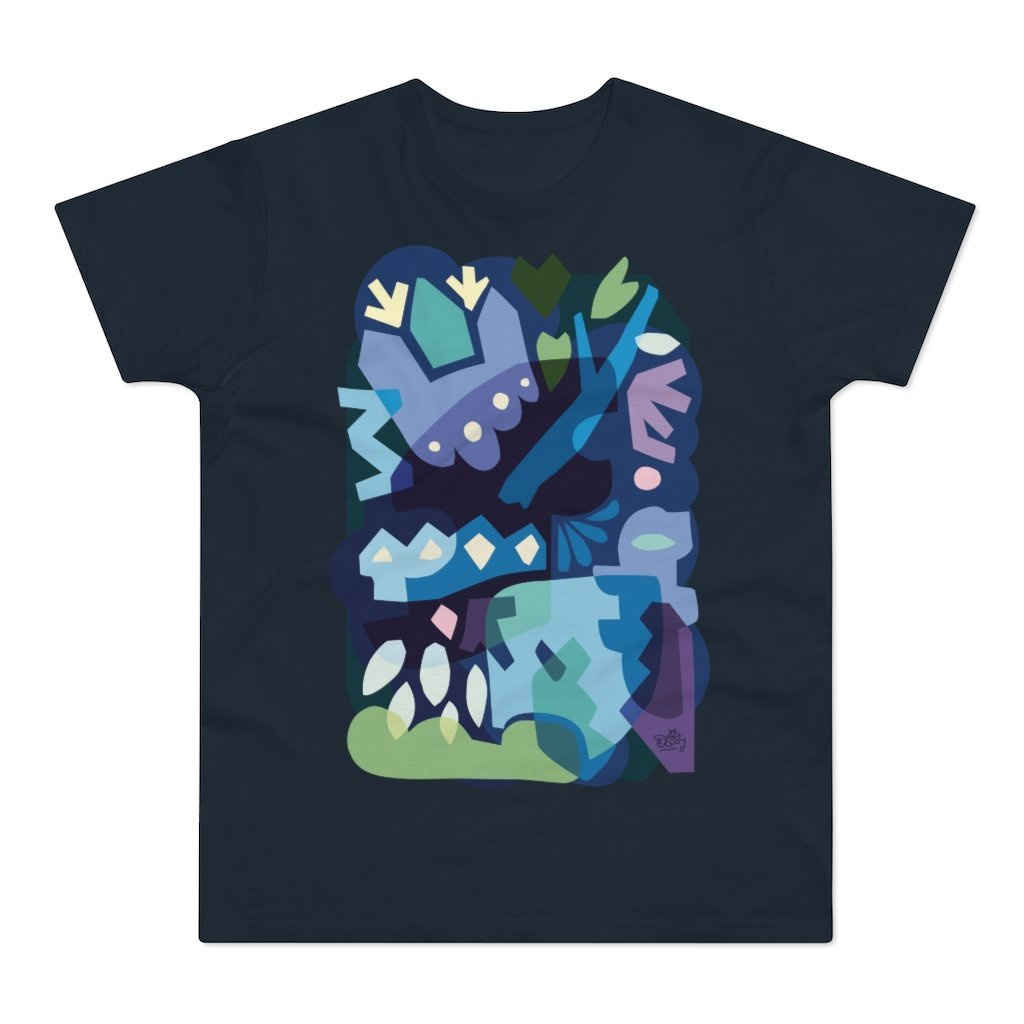 Winter Night Men's T-shirt - 21DW Design