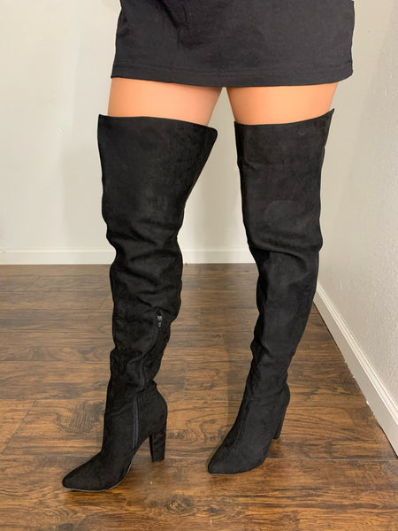 Sexy High knee boots
