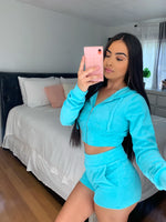 Paris baby blue set